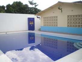 Acogedora casa de verano en Melgar con piscina privada y zona BBQ