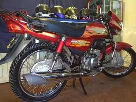 vendo motocicleta en buen estado marca hero 98cc modelo 2016