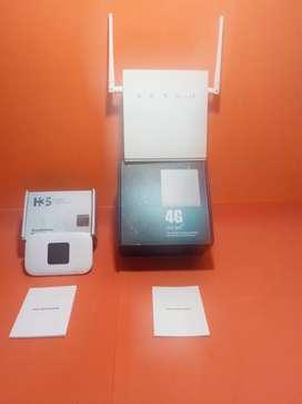 Router 4Gy Módem Mifi 4G H3S para colocar SIM de datos de Avantel ETB Claro Movistar Tigo.
