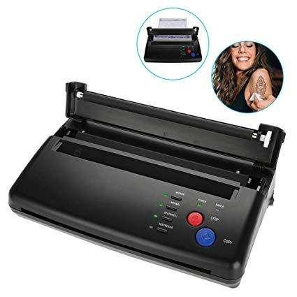 Maquina copiadora o impresora de plantillas para tatuajes 0