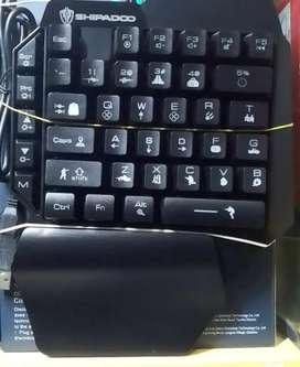 Teclados y mouse gamer para celular
