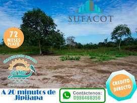 LOTE DE 200M2 A 5KM DE LA PLAYA CON TODOS LOS SERVICIOS BASICOS  | SD2