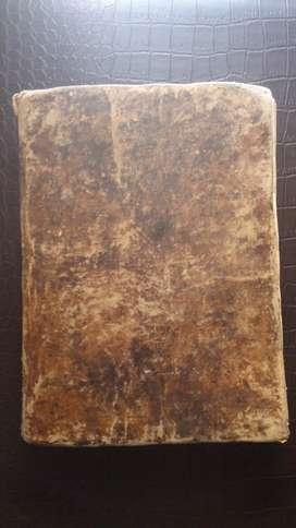 Elementos del Derecho Natural y Gentes 1823 Colegio de Artes y Ciencias Cuzco