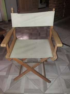 Vendo silla catre director de cine