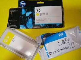 Cartucho de tinta HP 72 DesignJet amarillo