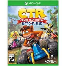 Crash Nitro Fuel Racing Xbox one Excelente