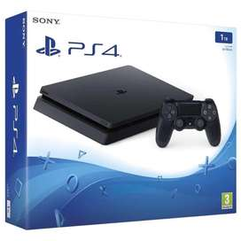 Playstation 4 slim 1TB - negociable