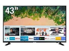 Televisor 43 UHD 4k Smart Samsung 43NU7090 Electrodomesticos jared