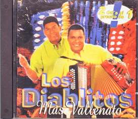 Los Diablitos - más vallenato - cd original