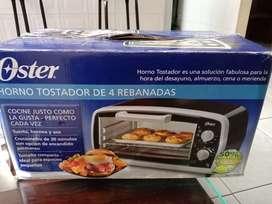Horno tostador Oster de 4 rebanadas