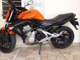 Kawasaki ER 6N Modelo 2007. En muy buen Estado, Poco Uso. Verla es Comprarla.