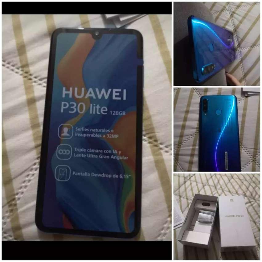 Huawei p30 lite azul 128 G 0