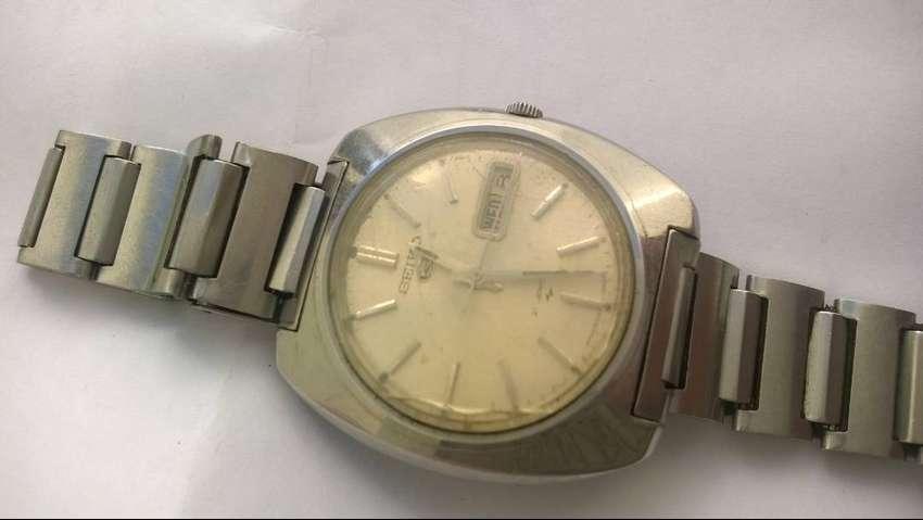 Reloj Seiko Automático Calibre 7006a Completo Falta Service 0
