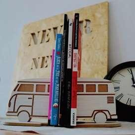 Porta libros, combi