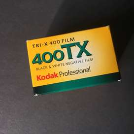 Rollos fotográficos Kodak Trix 400 blanco y negro 35mm