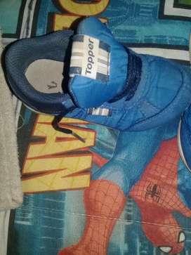 Tapado y zapatillas