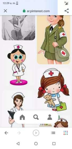 Me ofrezco como enfermera en casa y clinica
