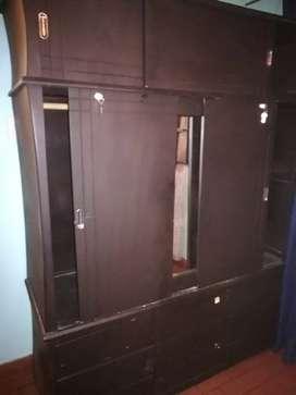 Camarote  y Closet doble puerta con cajones y zapatero