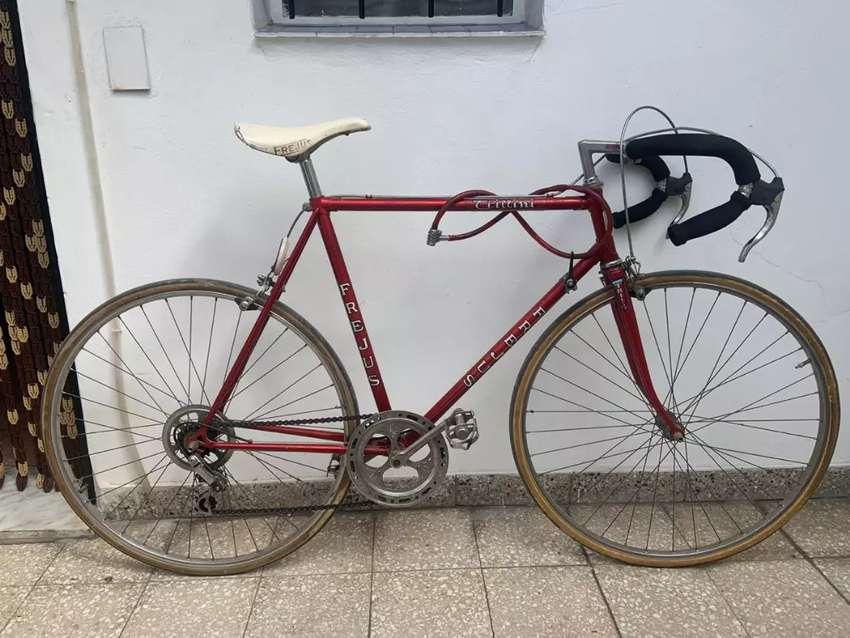 Bicicleta media carrera 0