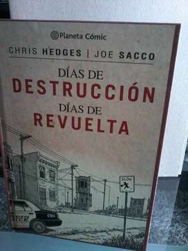Libro De Comics Dias De Destruccion Dias De Revuelta