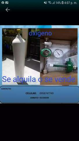 Cilindro de oxigeno