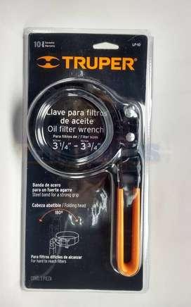 Llave para filtro de aceite 2 1/2 a 3 1/4 (t14518)