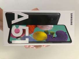 Samsung A51 (sellado-garantía de claro, con boleta)