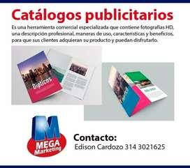 Catalogogos para impresión o web