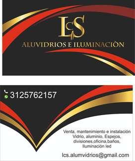 instalación, venta y mantenimiento de aluminio y vidrio