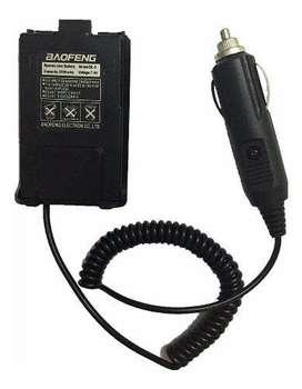 Falso Pack Para Handy Baofeng Para Auto Uv5r 12v