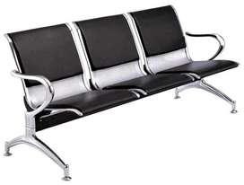 Silla de espera aeropuerto, tandem de espera, bvanqueta de 3,4 y 5 cuerpos