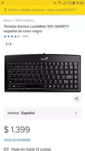 Vendo teclado genius nuevo
