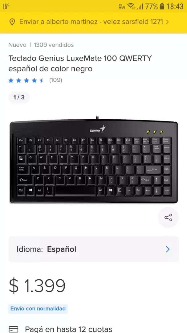 Vendo teclado genius nuevo 0