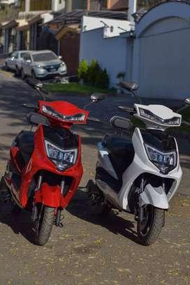 Moto scooter eléctrica 1200w