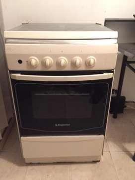 Estufa con horno a gas
