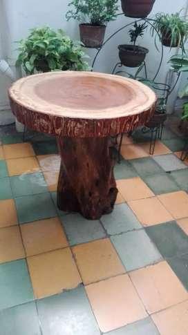 Vendo mesa rústica