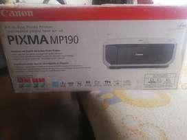 Impresora, fotocopiadora y scaner Canon PIXMA MP 190