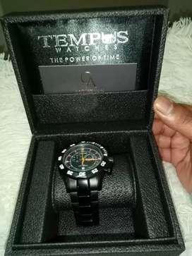 vendo reloj original tempus empavonado nuevo