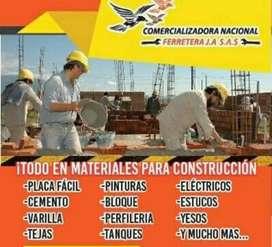 Materiales para obras de construcción