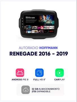 Autoradio Android Homologado Jeep Renegade 2016 – 2019 9″ Hoffmann