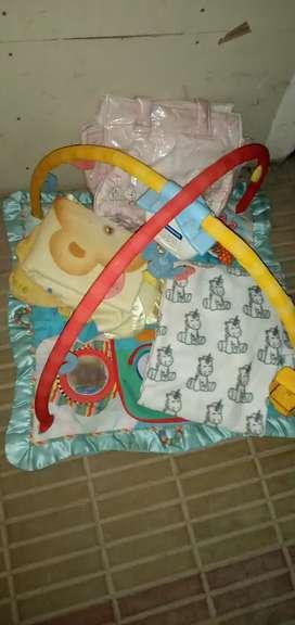 Gimnasio bebe y accesorios