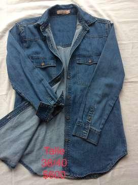 Vendo Camisa de Jeans de Mujer!!