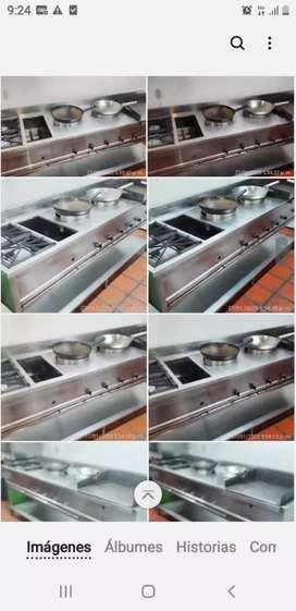 Cocina- wok industrial