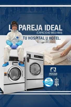 LAVADORAS Y SECADORAS INDUSTRIALES HOSPITALES , HOTELES