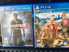 Farcry 4 y uncharted 4 combo para ya!