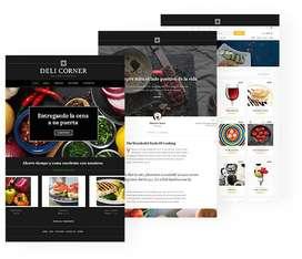 Diseño y servicio de Paginas Web