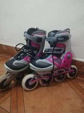 Venta de patines y protección