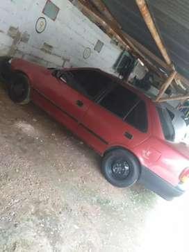 Vendo Chevrolet Swift rojo muy económico y bonito, negociable.