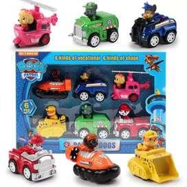Set de carros Paw patrol