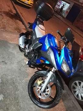 Venta moto Yamaha Fazer 155 mod 2012 buen estado